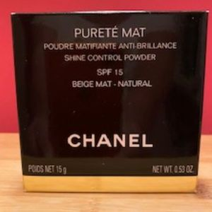 CHANEL Shine Control Powder BEIGE MAT -NATURAL